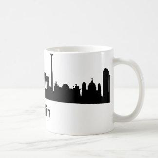 Skyline Berlin Mug Blanc