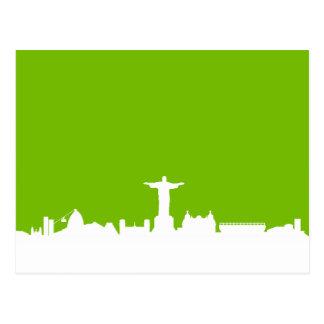 Skyline Rio de Janeiro Cartes Postales