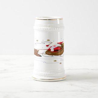 Sleigh - Stein de Père Noël Chope À Bière