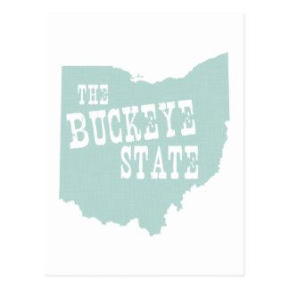Slogan de devise d'état de l'Ohio Cartes Postales