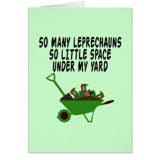 Slogan irlandais drôle cartes