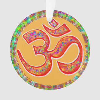 Slogan spirituel de symbole d'hindouisme