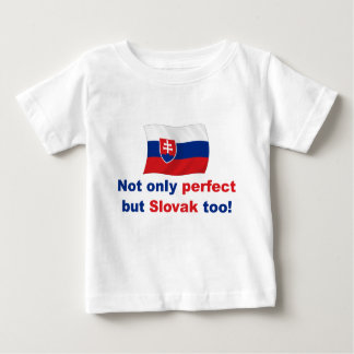Slovaque parfait t-shirt pour bébé