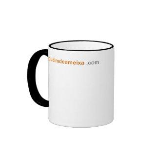 SM de Caneca pudimdeameixa.com (colorida 325ml Mug Ringer