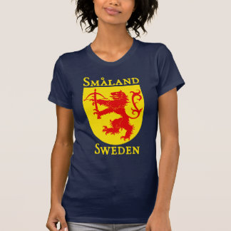 Småland, Suède (Sverige) T-shirt