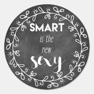 Smart est le nouveau sexy - les autocollants