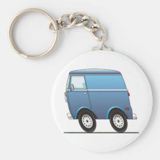 Smart Van Blue Porte-clé Rond