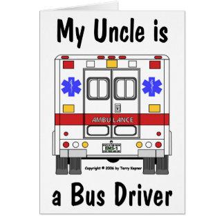 SME-Ambulance, chauffeur d'oncle bus, carte