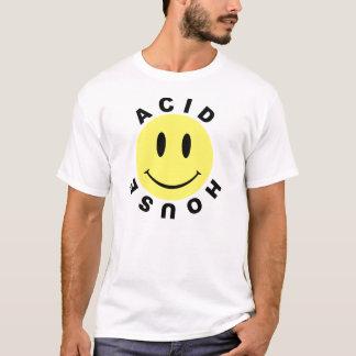 Smiley acide classique de Chambre T-shirt