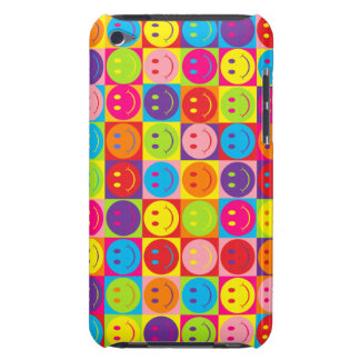 Smiley de bruit coque barely there iPod