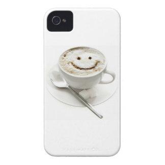 Smiley de café coques Case-Mate iPhone 4