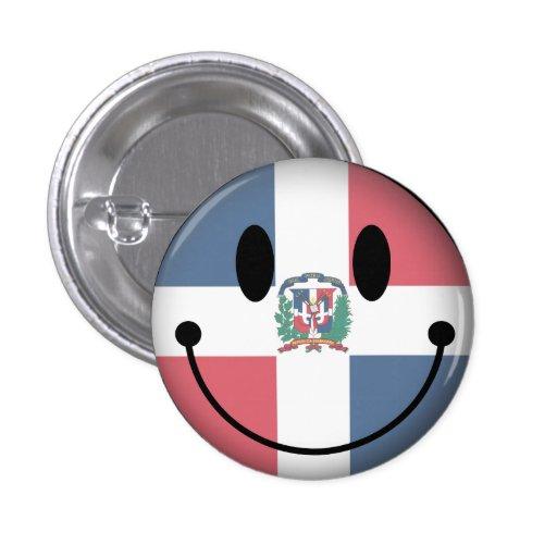 Smiley de la République Dominicaine Badge