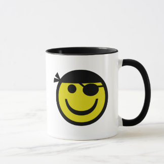 Smiley de pirate mug