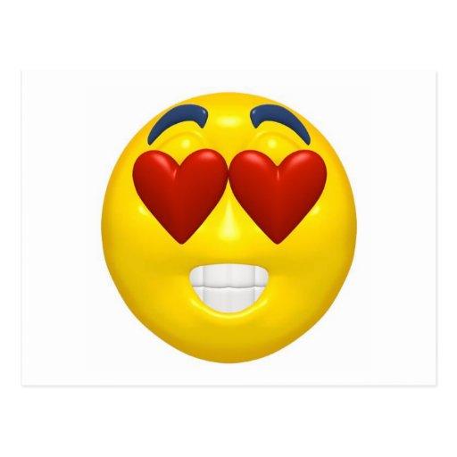 Smiley de Valentine Cartes Postales