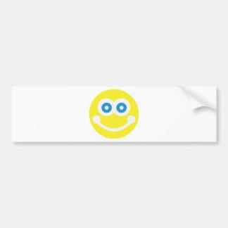 Smiley doux autocollant de voiture