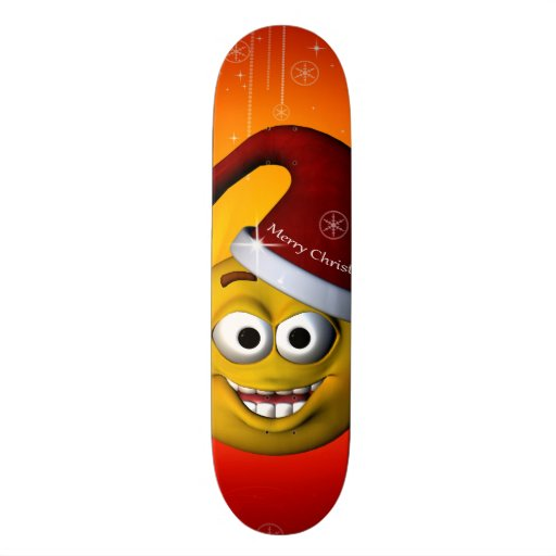 Smiley drôle skateboards personnalisables
