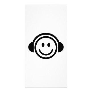 Smiley du DJ Photocartes Personnalisées