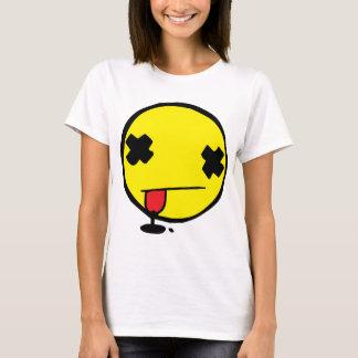 Smiley gaspillé t-shirt