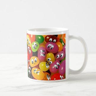 Smiley mignons de dragée à la gelée de sucre mug