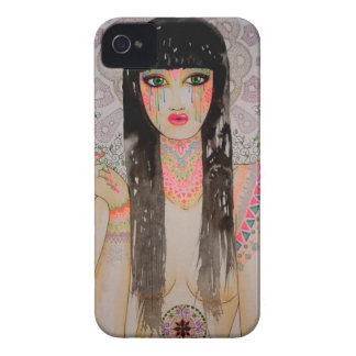 Smoke Girl Coque Case-Mate iPhone 4