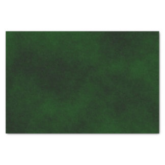 ~ Smokey Forest Green Papier Mousseline