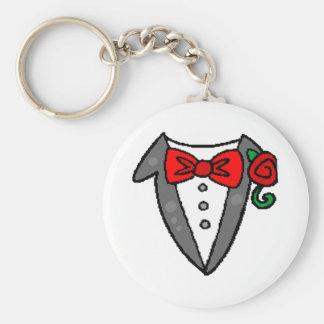 Smoking Keychain de mariage Porte-clé