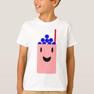 Smoothie de myrtille qui est heureux t-shirt