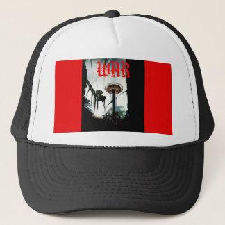 Snapback noir et rouge de chaos d'aiguille casquette