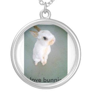 snowball4, j'aime des lapins collier