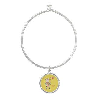 Snowbell dans le bracelet de charme d'amour