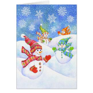 SnowGirls Carte De Vœux