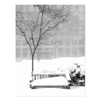 Snowscene III, Philadelphie Carte Postale