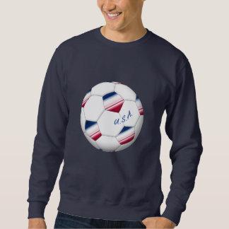 Soccer ball «U.S.A.». Ballon de Football des USA Sweat-shirt