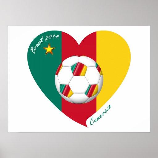 Soccer «CAMEROUN» Football Team, Football du Cam Posters