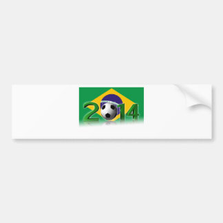 Soccer World Cup 2014 Autocollant Pour Voiture