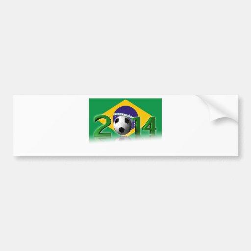 Soccer World Cup 2014 Autocollants Pour Voiture