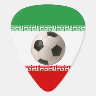 Soccerball avec le drapeau iranien onglet de guitare