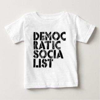 Socialiste Democratic T-shirt Pour Bébé