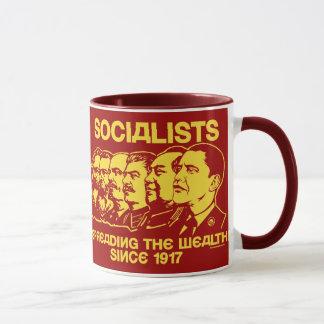 Socialistes : Répandre la tasse de richesse