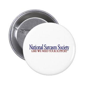 Société nationale de sarcasme pin's