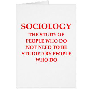 sociologie carte de vœux