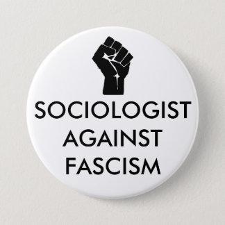 Sociologue contre le fascisme badge