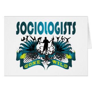 Sociologues fous carte de vœux