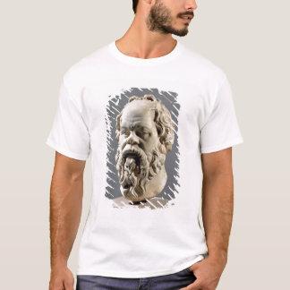 Socrates, tête de marbre, copie d'un bronze de t-shirt