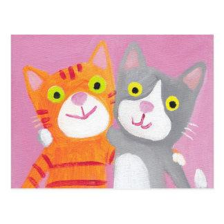 soeurs - meilleurs amis carte postale