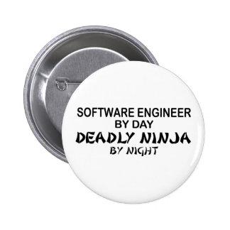 Software Engineer Ninja mortel Pin's