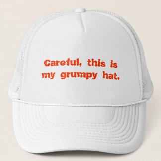 Soigneux, c'est mon casquette grincheux