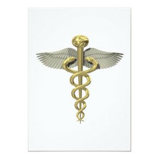Soins de santé carton d'invitation  12,7 cm x 17,78 cm