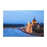 Soirée à Budapest Impression Sur Toile