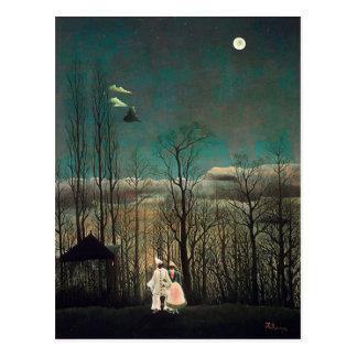 Soirée de carnaval de Rousseau Carte Postale